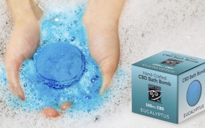 Relax with CBD Bath Bombs